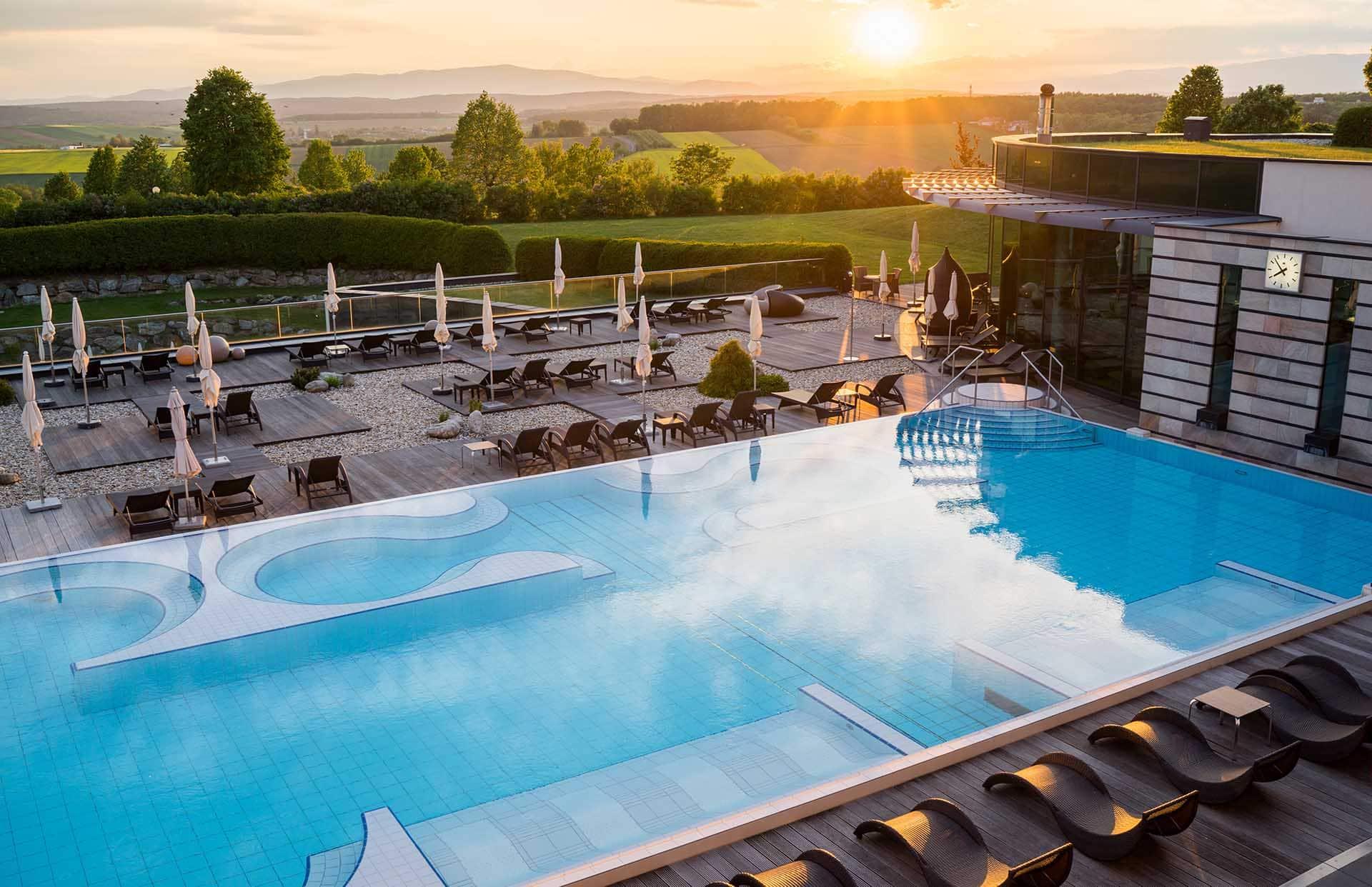 Sonnenuntergang Pleasure Pool