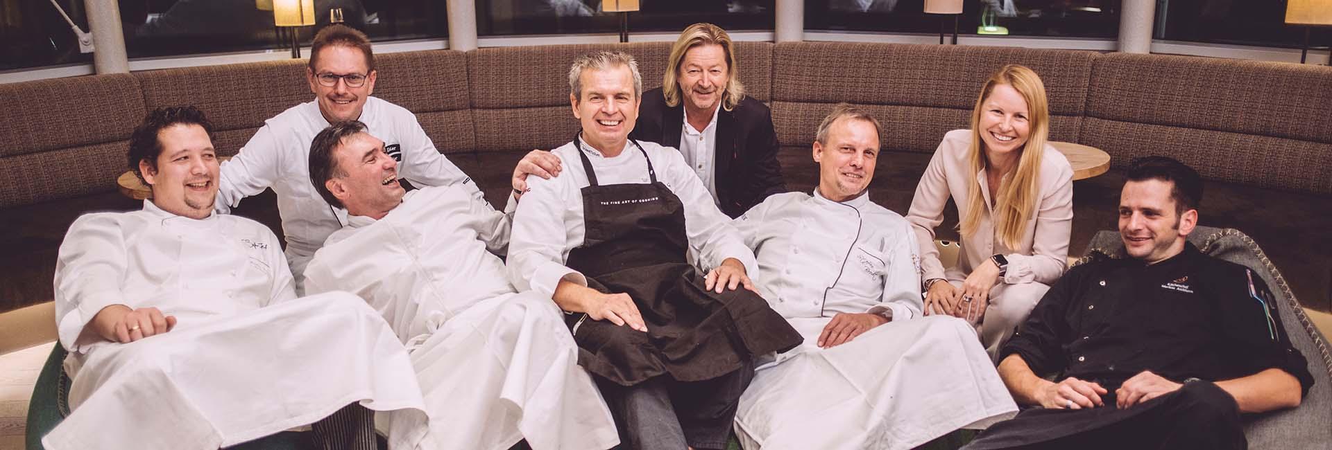 Küchenmeister mit Familie Reiter