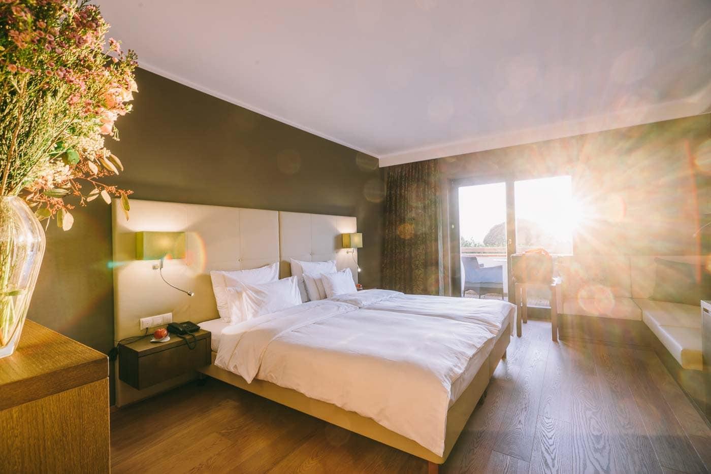 Zimmer bei Sonnenaufgang im Reiters Reserve