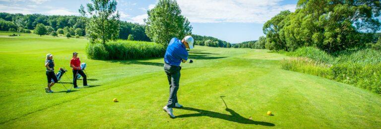 Golfspielen im Reiters Reserve