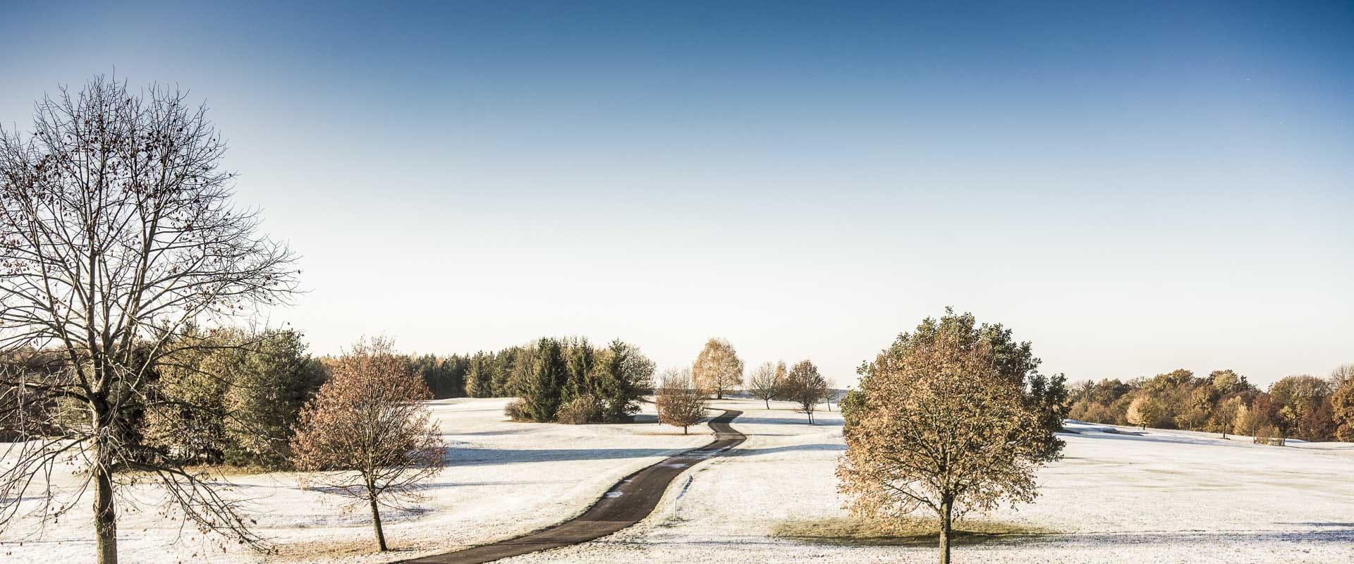Winterlandschaft im Reiters Reserve