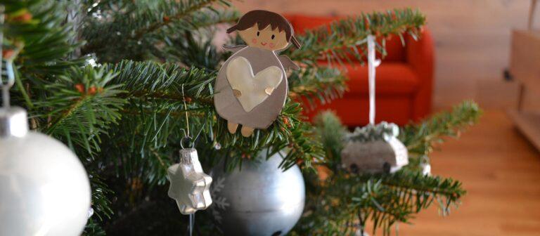 Geschmückter Christbaum