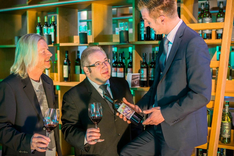 Weinverkostung in der Genusswerkstatt