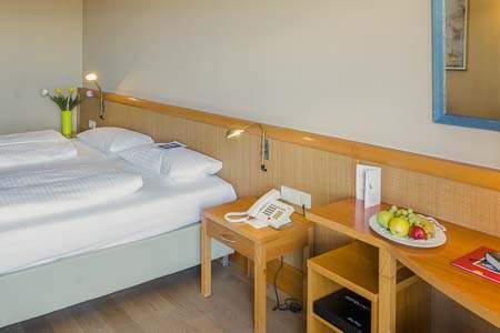 Bett Doppelzimmer