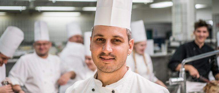 Küchenchef Helmuth Gangl