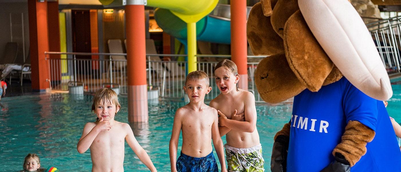 Kids mit Kasimir in Waterworld