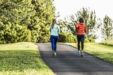 Frauen bei Alphalauf