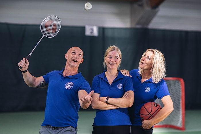 Tom, Tamara und Sandra vom Active Team