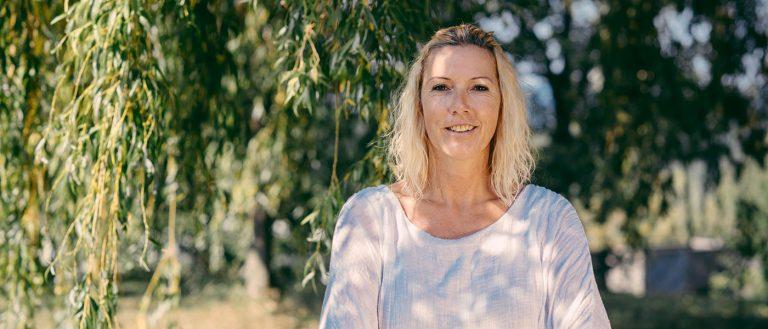 Sandra Wind im Park