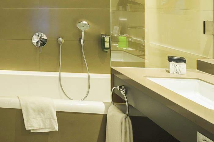 Badezimmer Büffelsuite