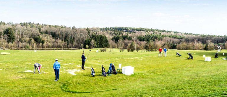Golf im März